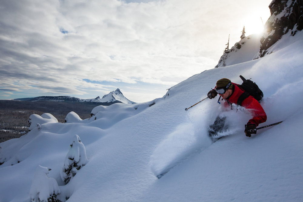 Powder day at Hoodoo.  - © Tyler Roemer