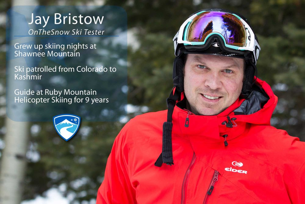 "Jay Bristow, 41. Your ultimate ski day would need to include what? ""Skis."" - ©Cody Downard Photography"