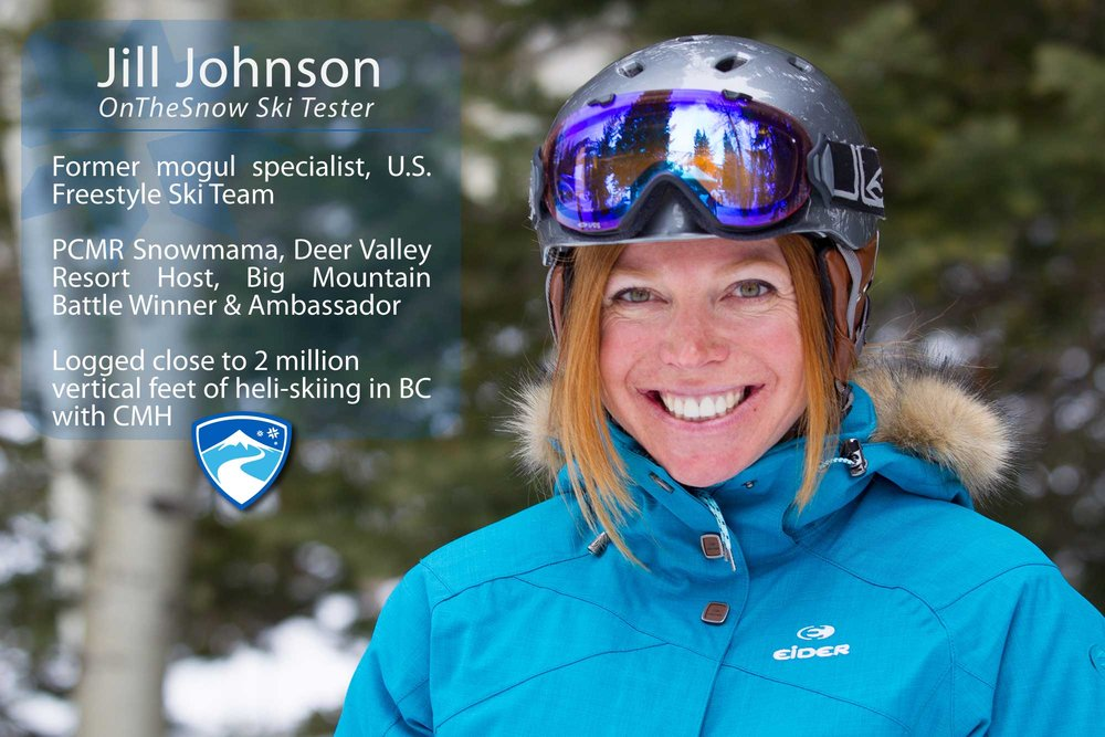 "Jill Johnson, 39. If you could ski with anyone (past, present or future) who would it be? ""My 90-year-old self, my future great, great, grandchildren and Stein Ericksen of Norway at the height of his career."" - ©Cody Downard Photography"