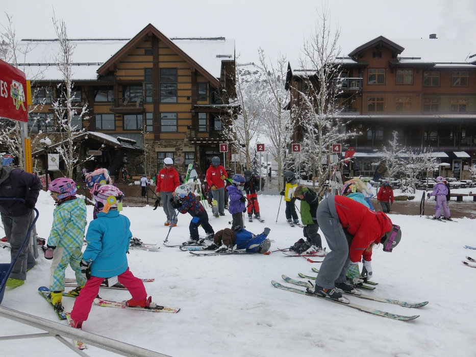 Little skiers at work in Snowmass - ©Micaela Romani