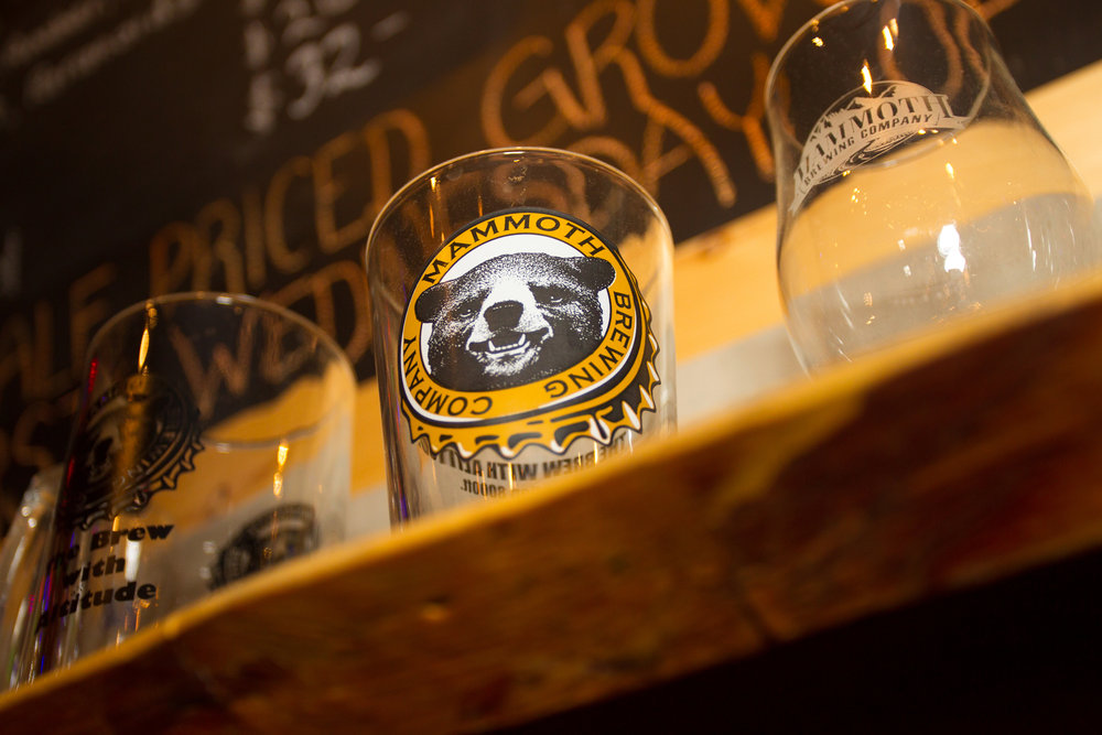 Mammoth Brewing Company's new tasting room in downtown Mammoth Lakes gives visitors the chance to taste fresh, California brews. - ©Cody Downard Photography