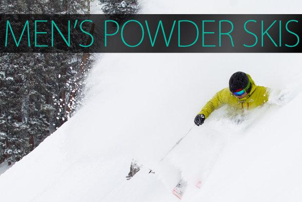 Men's 2015 Powder Skis. - © Cody Downard Photography
