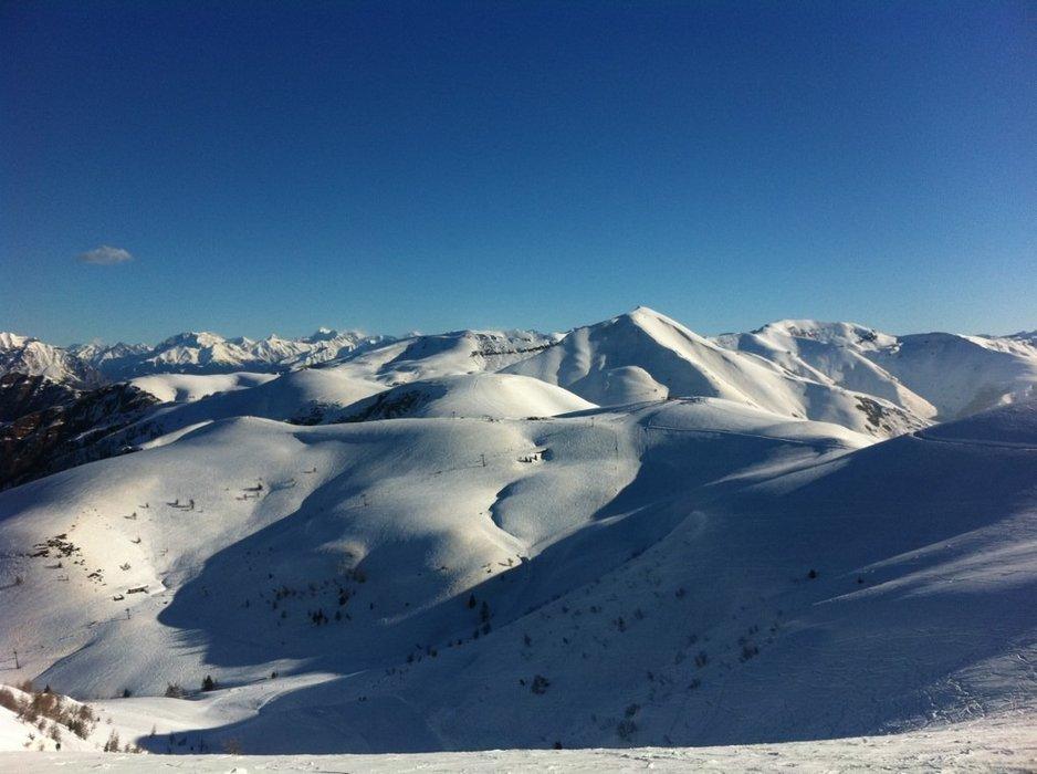 Montecampione - Neve di Marzo 2014