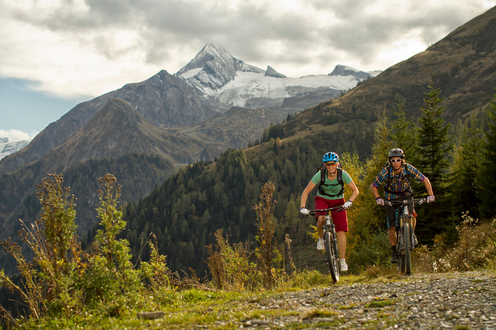 Mountainbiking in Zell-am-See-Kaprun in summer - © Salzburgerland Tourismus/Wolfgang Watzke