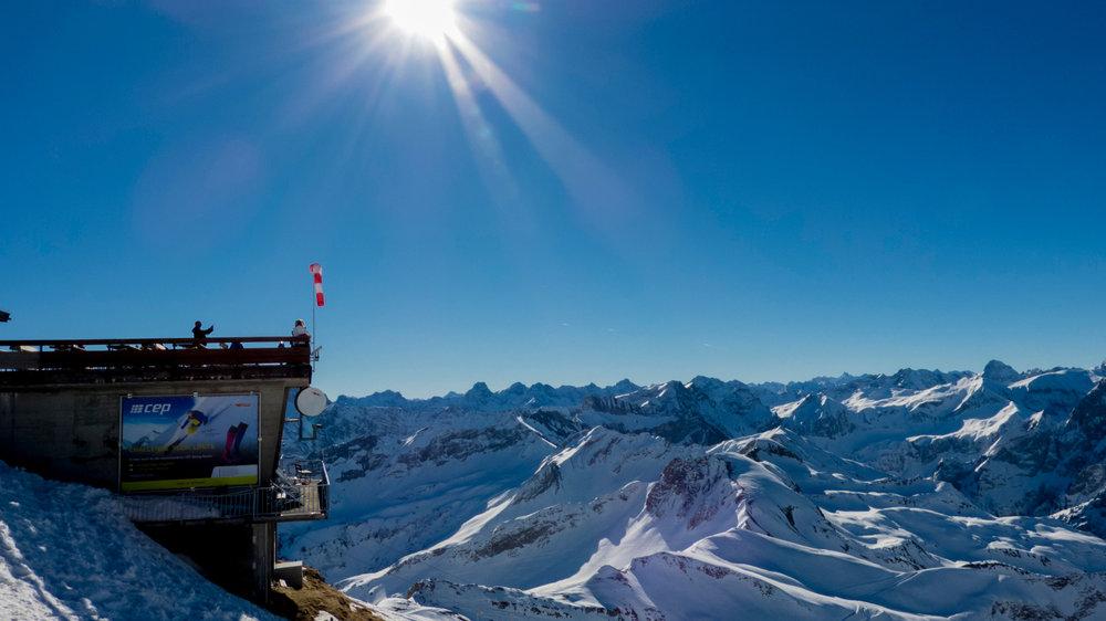 An der Gipfelstation - © Fellhornbahn GmbH