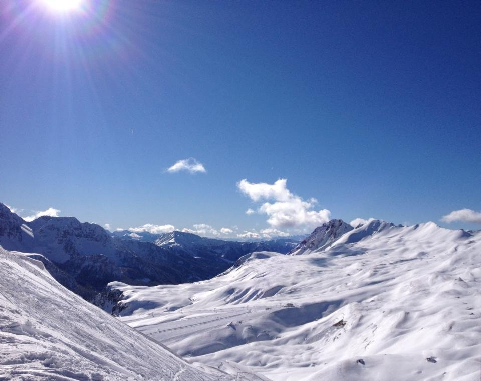 Passo San Pellegrino - Condizioni piste 22-23-24 Febbraio 2014