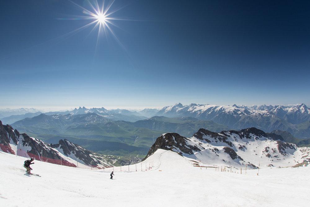 Pic Blanc (3300m) in Alpe d'Huez, France - ©L.Salino / Alpe d'Huez Tourisme