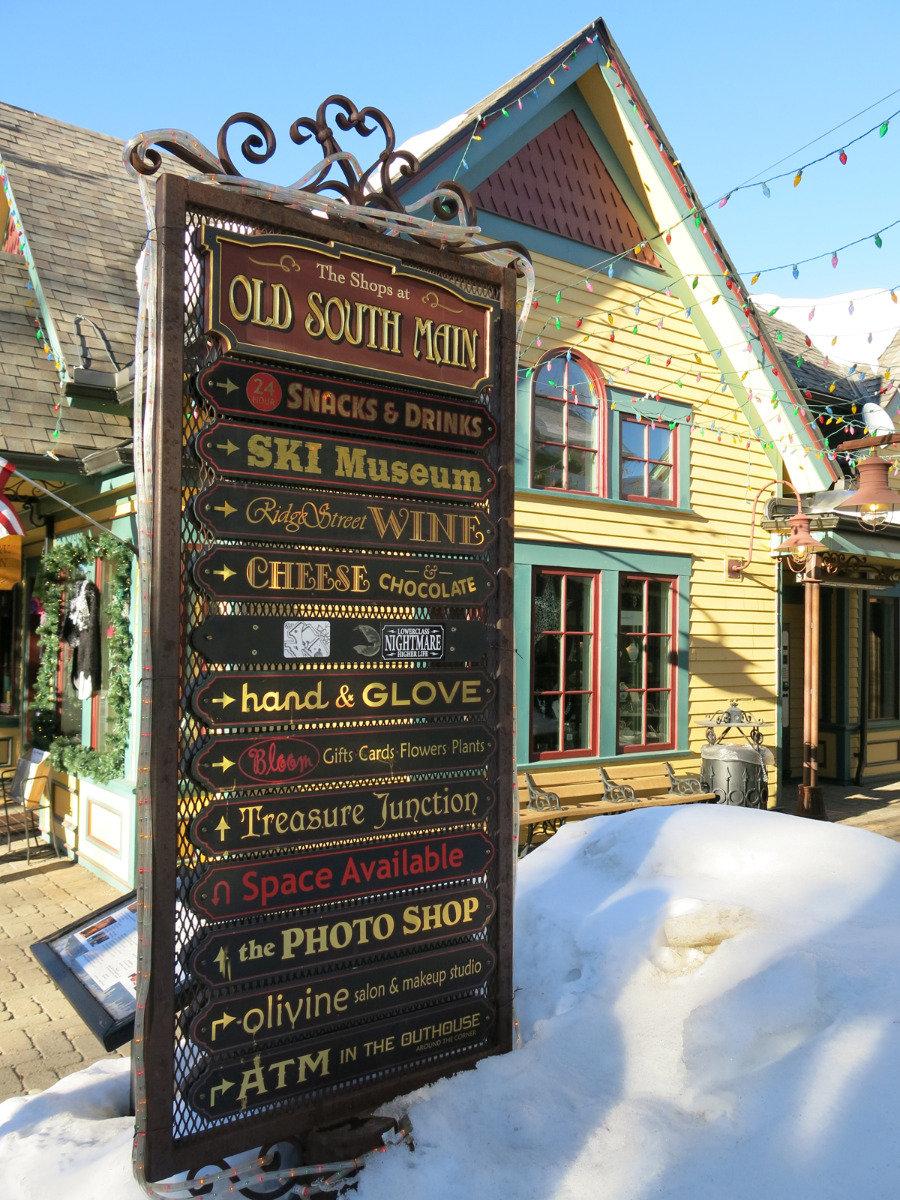 Spousta možností, kam v Breckenridge jít a co dělat... - © Micaela Romani