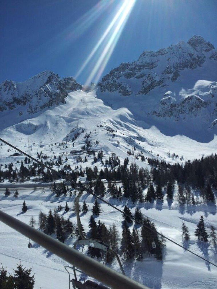 Pontedilegno - Neve di Marzo 2014