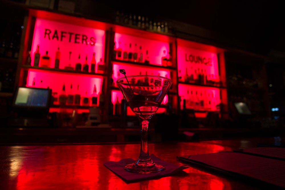 Rafters Lounge in Mammoth Lakes has a lively bar and nightlife. - ©Cody Downard Photography