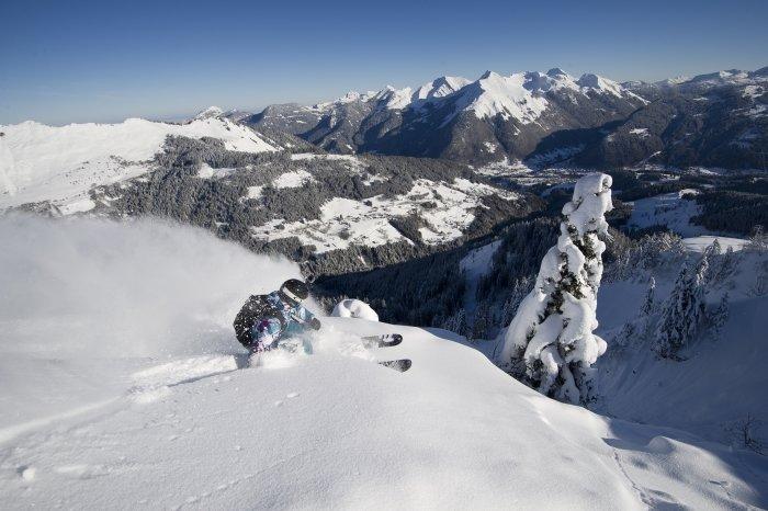 Reliable snow record in the Portes du Soleil - © OT Les Gets