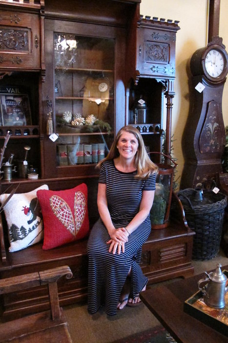 Ski Country Antiques & Home owner, Sharna Coors. - © Heather B. Fried