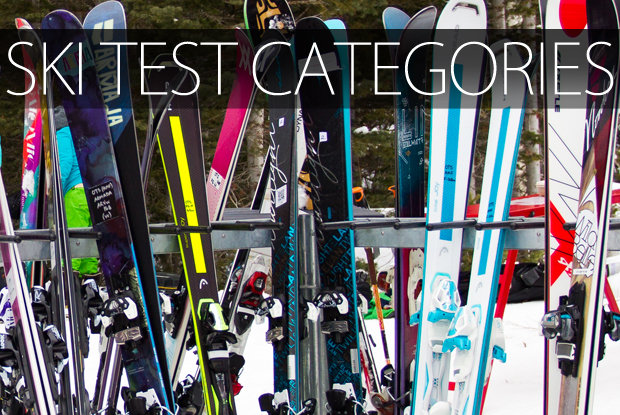 Ski Test category breakdown - ©Cody Downard Photography