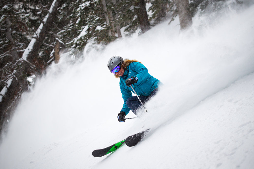 Ski Test day 2 was a powder playground. - ©Cody Downard Photography