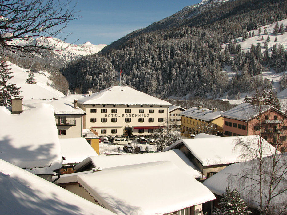 Hotel Bodenhaus in Splügen - ein Ort mit langer Tradition - © Marion Neumann