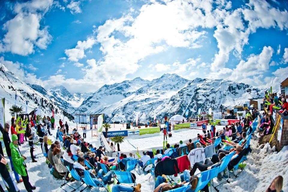 Snow Volleyball World Tour 2014 - St. Anton - ©Snow Volleyball World Tour FB