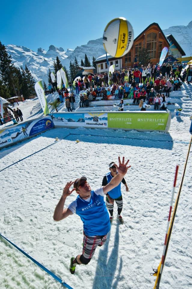 Snow Volleyball World Tour 2014 - Engelberg - ©Snow Volleyball World Tour FB