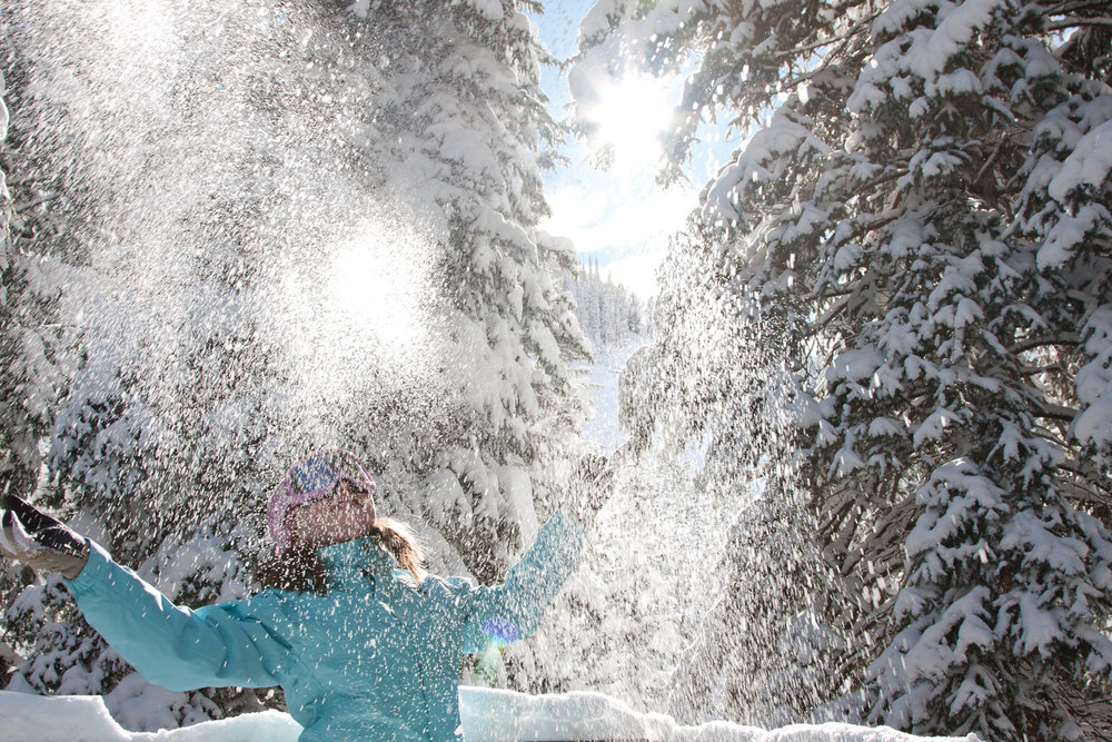 Snowbird happiness.  - ©Snowbird Ski and Summer Resort