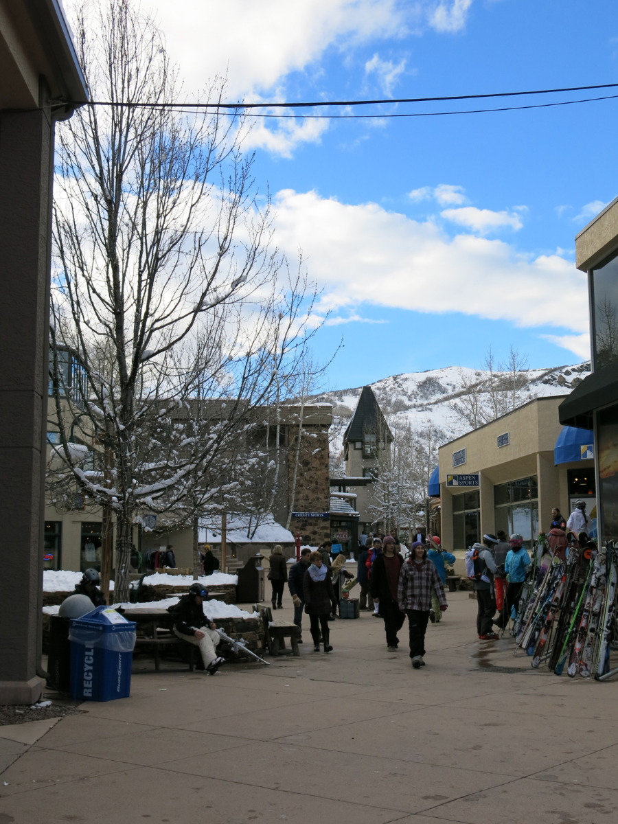 In Snowmass Village - ©Micaela Romani