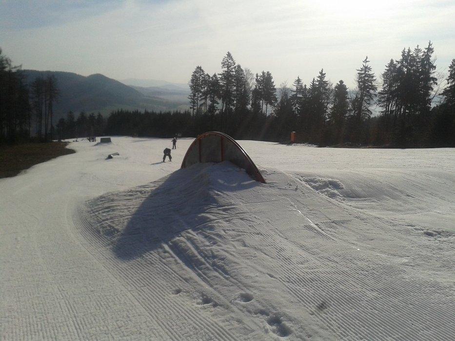 Snowpark Červená Voda - ©Skipark Červená Voda