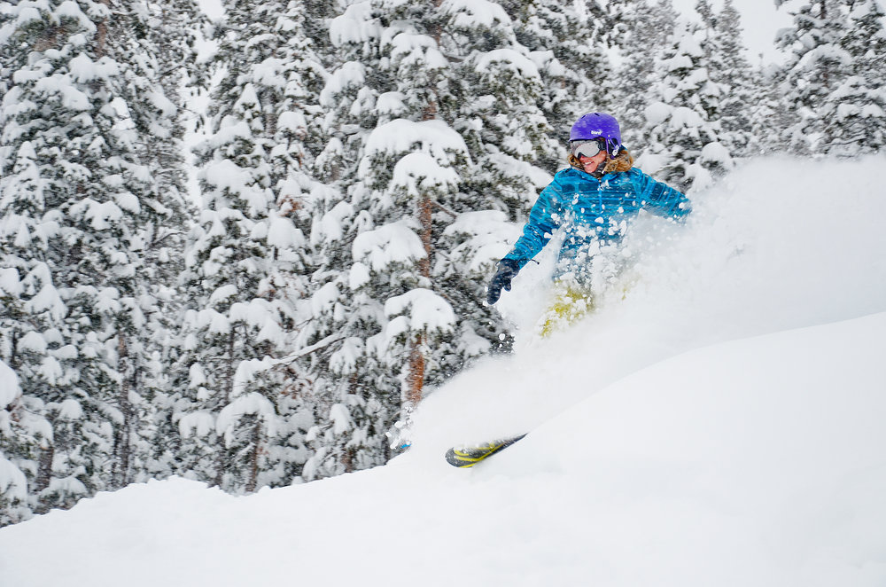 No sooner had Winter Park Resort announced it was extending its season to April 27 than Mother Nature declared her approval with a foot of fresh snow. - © Sarah Wieck
