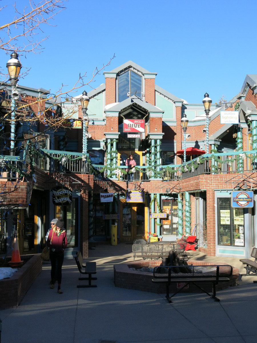 In the town centre of Breckenridge, Colorado - ©Micaela Romani