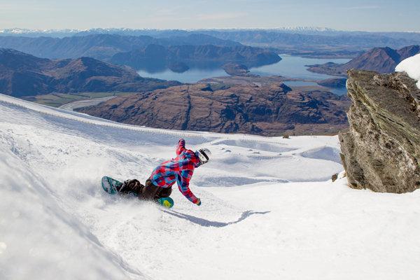 Snowboardista v Treble Cone - © Treble Cone