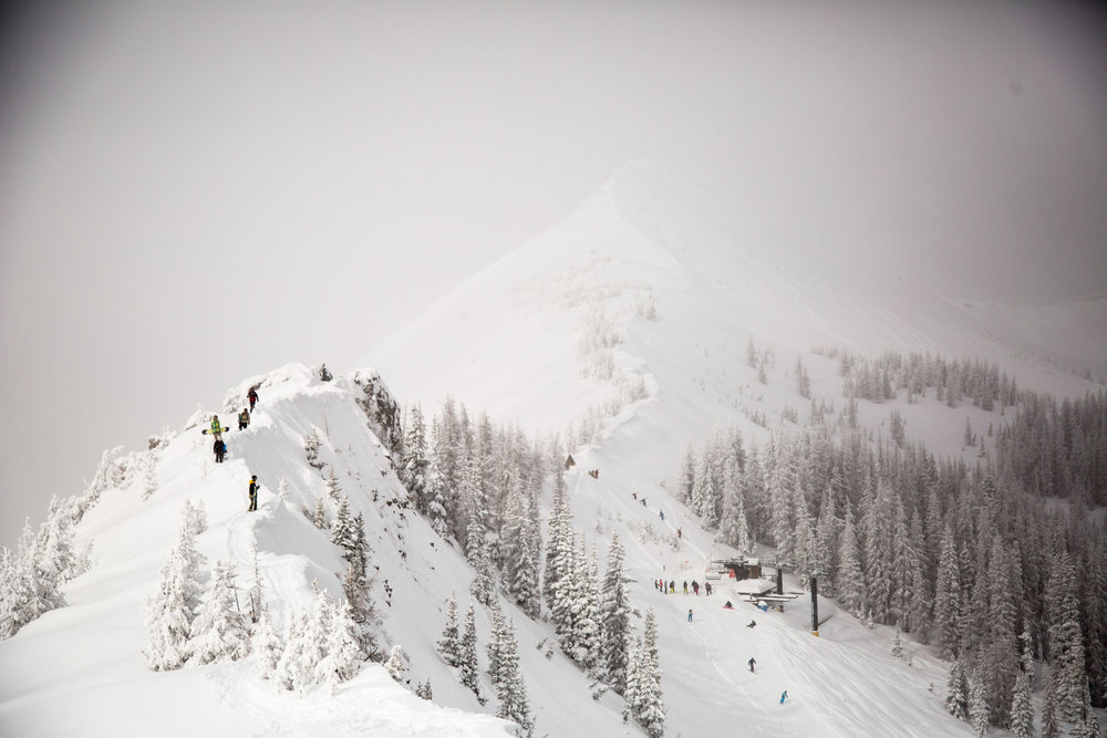 The storm that made national news with flooding in Los Angeles made it's way west this weekend dropping massive amounts of snow on Wolf Creek Ski Area in Colorado.  - ©Jason Lombard courtesy of Wolf Creek Ski Area