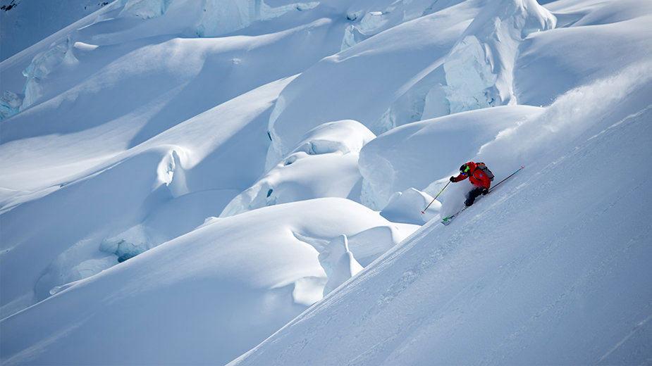 Big Mountain Skiing at its best in Alaska - ©Warren Miller Film Tour