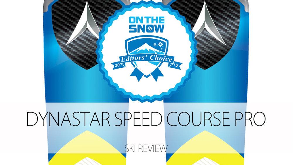 Dynastar Speed Course Pro, a 2015 Editors' Choice Men's Frontside Ski - © Dynastar