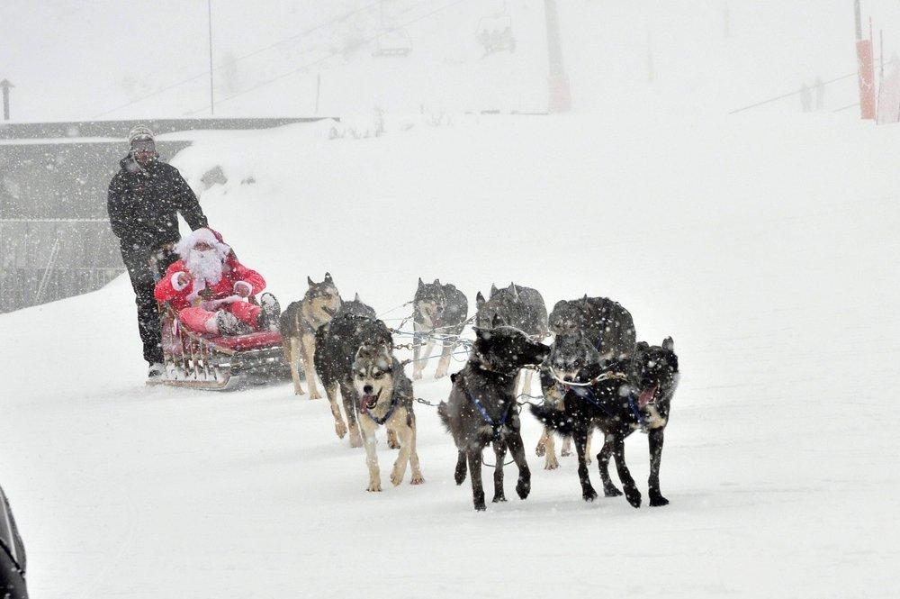 Santa comes to Baqueira Beret | Santa - © His elves | snowhunter @ Skiinfo Lounge
