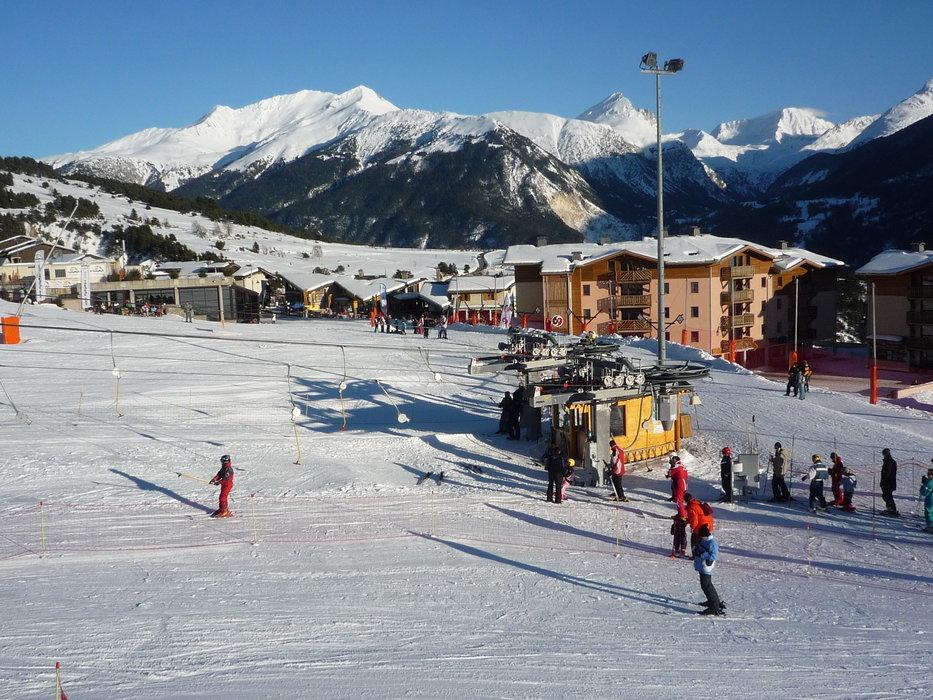 Front de neige d'Aussois - A vous les pistes de ski... - © MO. OT AUSSOIS
