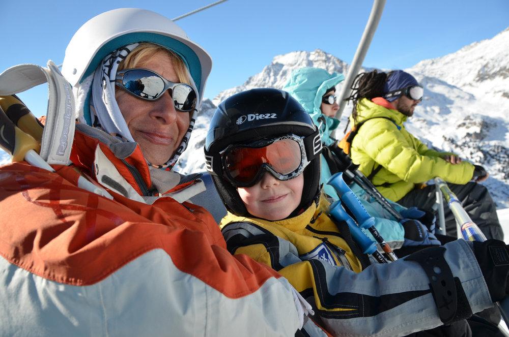 Ski en famille à Aussois - © MO. Arc en Ciel Photos-OT AUSSOIS