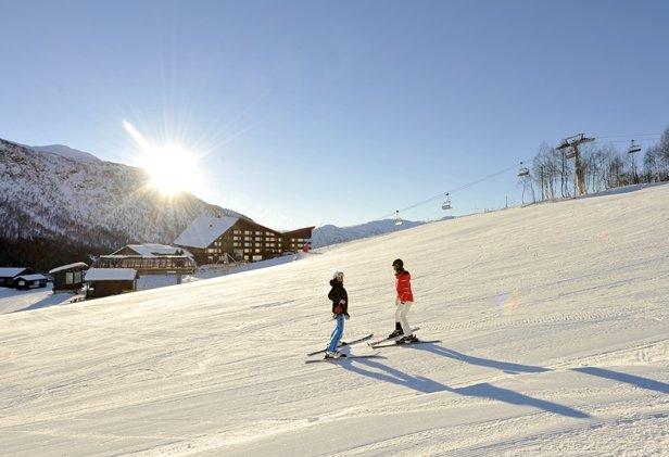 Hotell rett ved skibakken - © Voss Fjellandsby/Myrkdalen