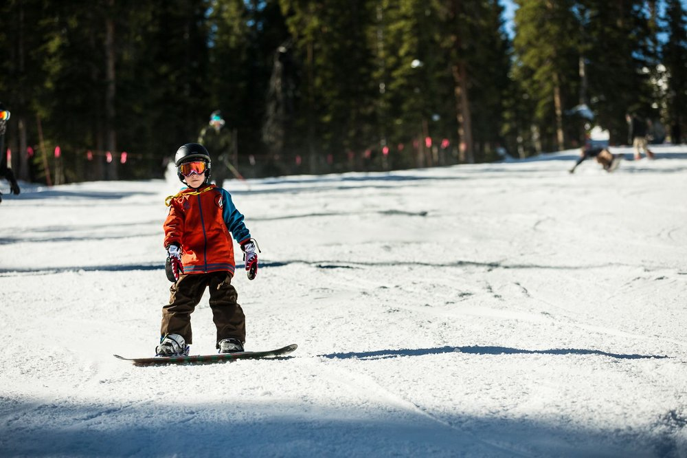 Day one of many to come for the 2014/15 season. - © Dave Camara/Arapahoe Basin Ski Area