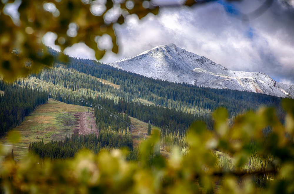 Copper Mountain is slated to open on Halloween, and it looks like Mother Nature got the memo. - © Tripp Fay, Copper Mountain Resort