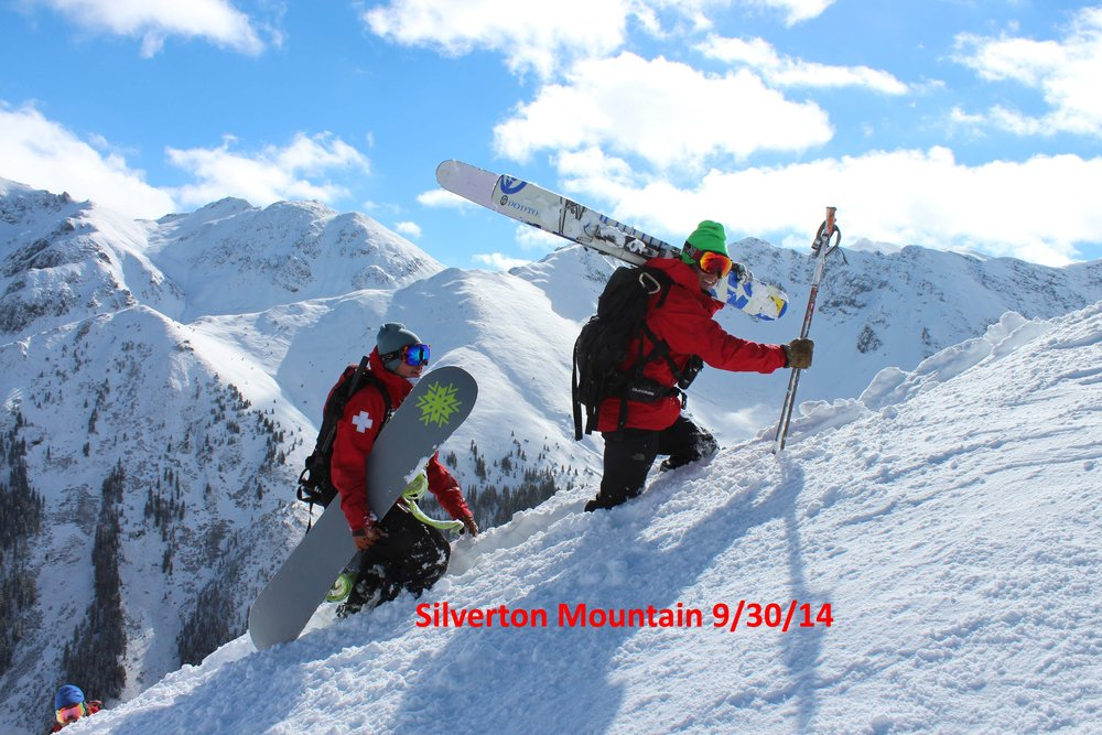 Silverton's official start of the ski season is slated for December 20, 2014, but if the snow keeps up at this pace, that date could be pushed up.  - © Courtesy of Silverton Mountain