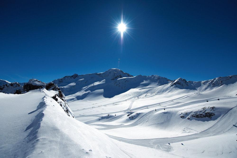 Lodowiec Kaunertal - © © Kaunertaler Gletscherbahnen - Daniel Zangerl