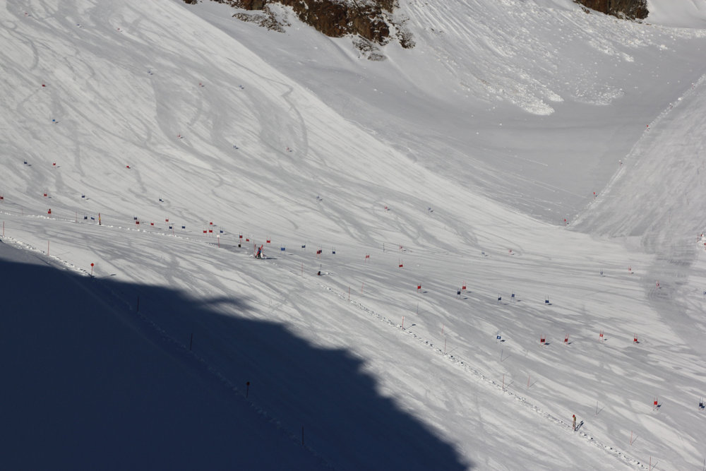 Pictorially declining the pistes - ©Pitztaler Gletscherbahn