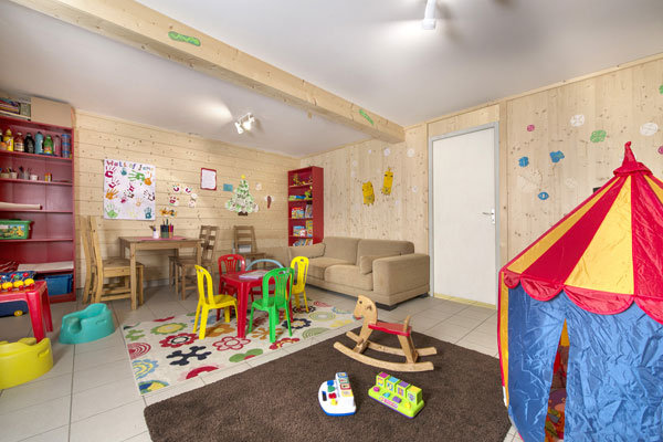 Playroom at Grand Chalet Mouflon, Les Gets - © Grand Chalet Mouflon