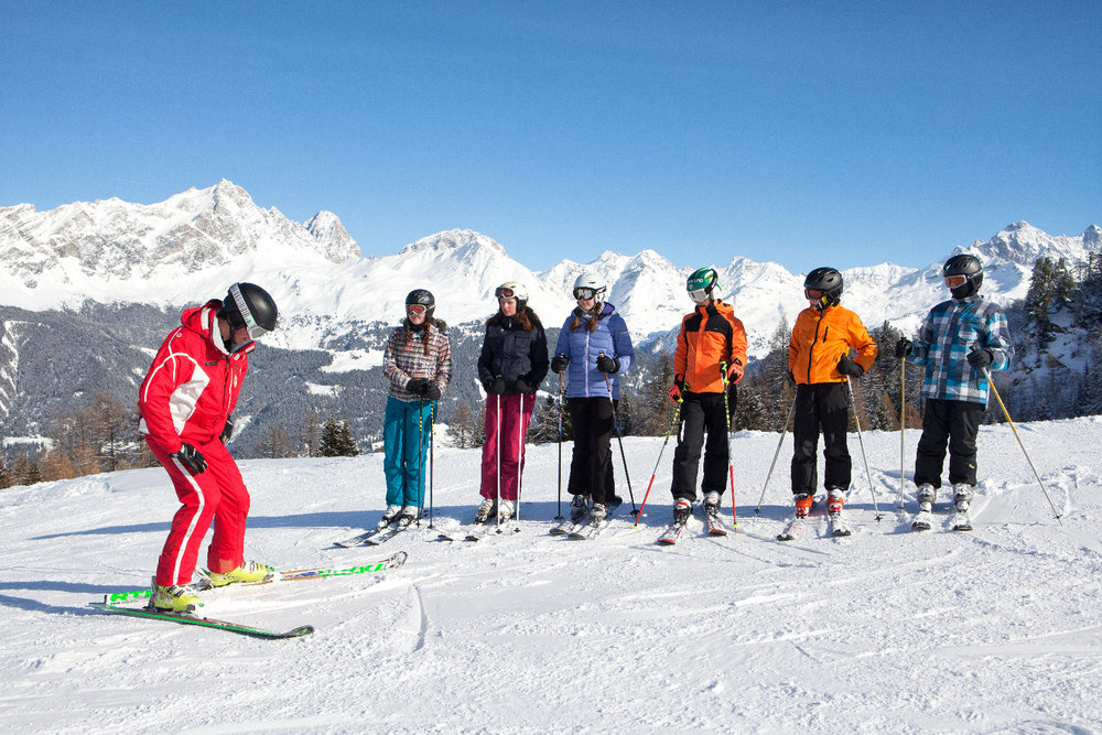 Ski instructions for everyone - © Savognin Bergbahnen AG