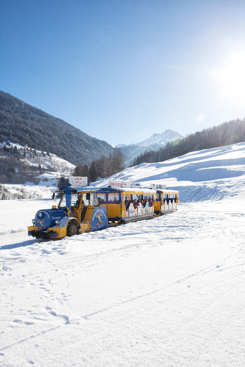 Boundless freedom with the guest train - © Savognin Bergbahnen AG