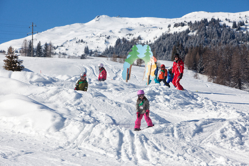 Activities for the whole family are available - ©Savognin Bergbahnen AG