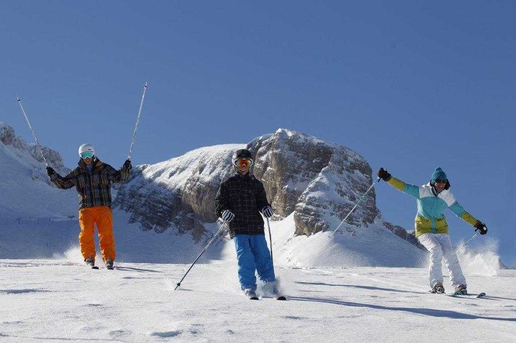 Sur les pistes du Dévoluy, Hautes-Alpes, Alpes du Sud - © ©Agence Urope