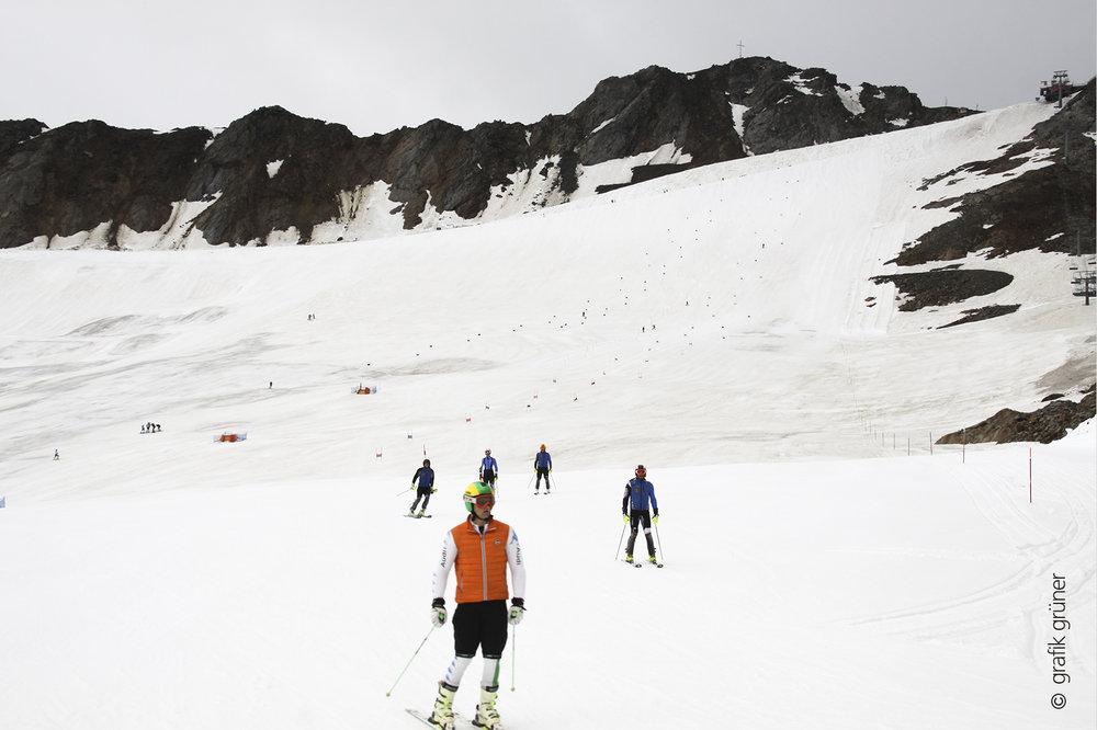 In Val Senales inizia la stagione invernale, oggi apertura degli impianti - 19 Settembre 2014  - © © Grafik Grüner