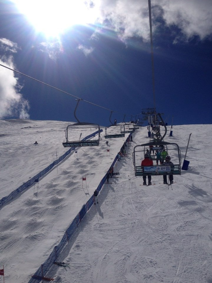 Great sunny season and great snow. Best in 22 years.