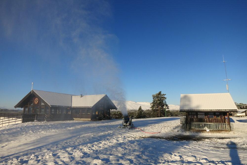 Rauland Skisenter snøproduksjon - © Velkommen til sesongåpning, og les hva som er nytt denne sesongen!