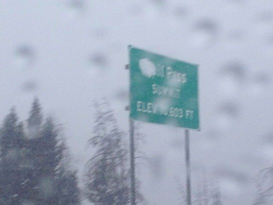 Hard drive over vail pass today :(