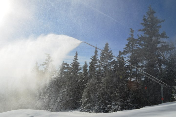 Okemo added 100 new snow guns to their arsenal for 2014. - © Okemo Mountain Resort
