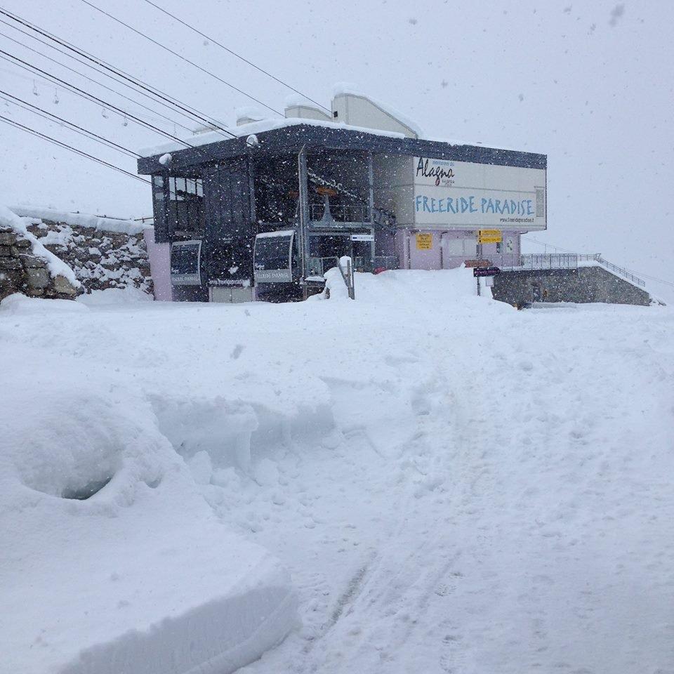 Alagna Valsesia 17.11.14 - Neve fresca Novembre 2014
